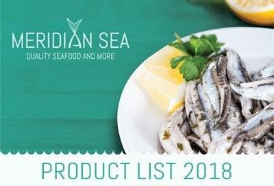 Meridian Sea Product List 2018