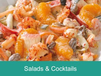 Seafood Salads and Cocktails